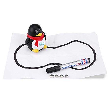 robot pinguin inductiv urmareste linia 2