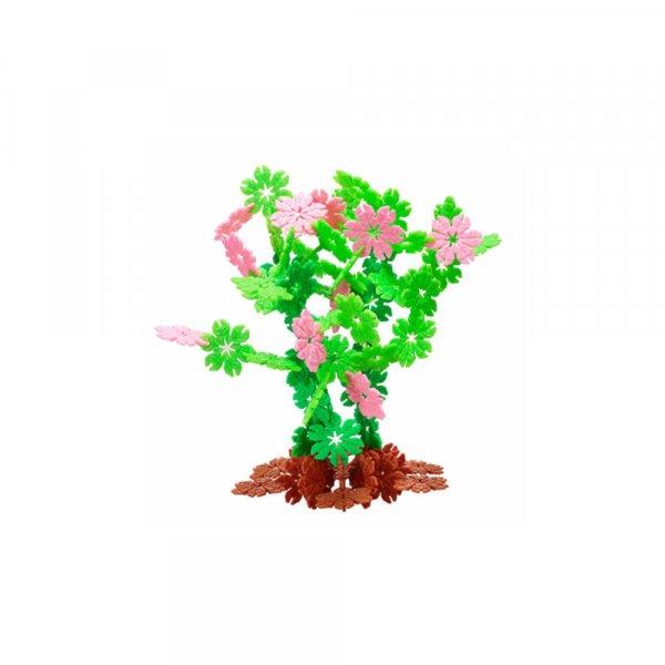 set de blocuri interactive 120 piese floricele