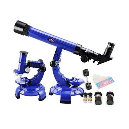 telescop si microscop copii