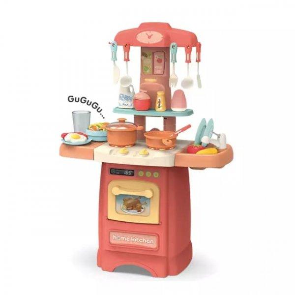 bucatarie de jucarie rosu