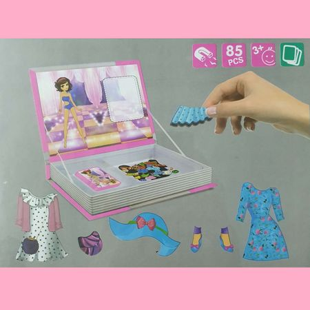 joc educativ carte magnetica printesa cu stil 2