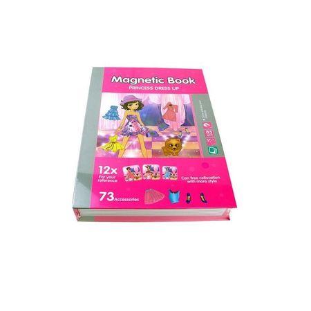 joc educativ carte magnetica printesa cu stil 3
