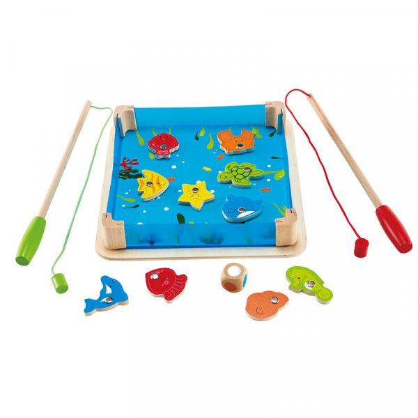 joc magnetic din lemn pescuit fishy 3