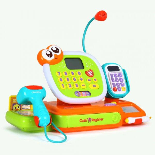 jucarie pentru copii casa de marcat cu accesorii 3
