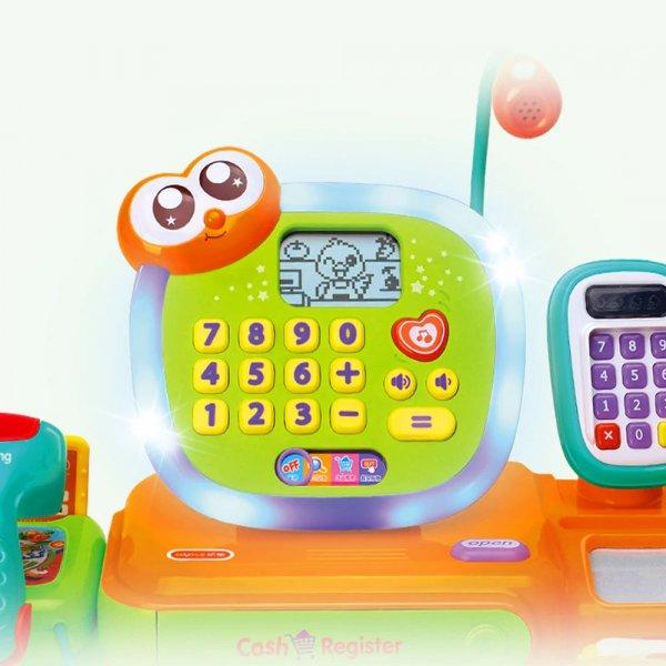 jucarie pentru copii casa de marcat cu accesorii 4