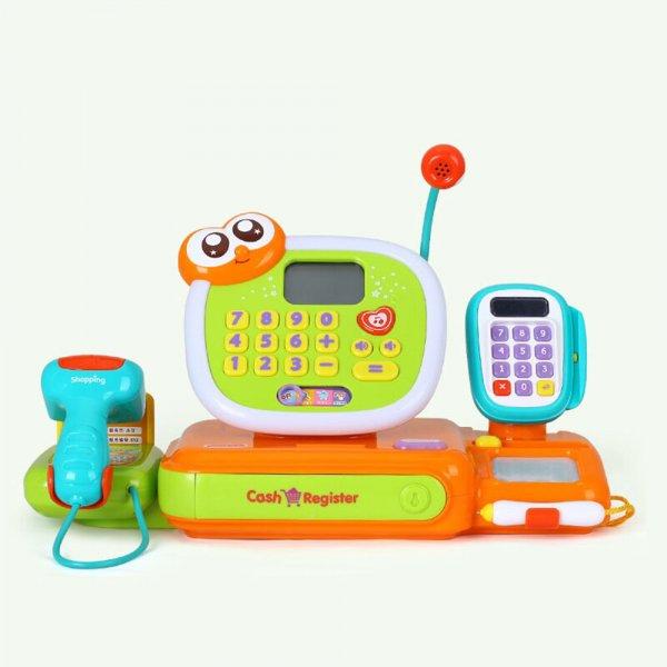 jucarie pentru copii casa de marcat cu accesorii