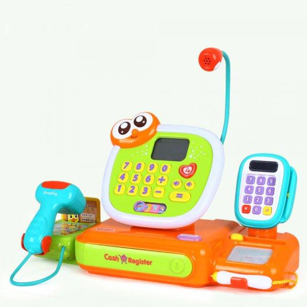 jucarie pentru copii casa de marcat cu accesorii 7