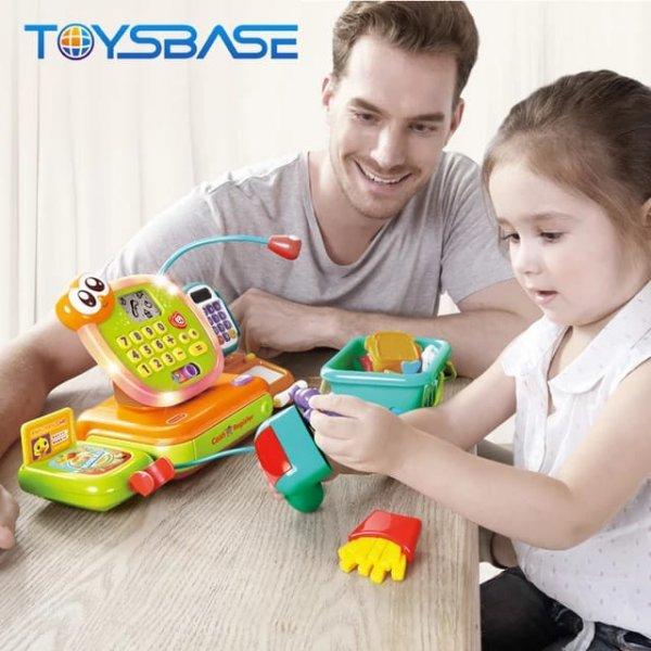 jucarie pentru copii casa de marcat cu accesorii 8