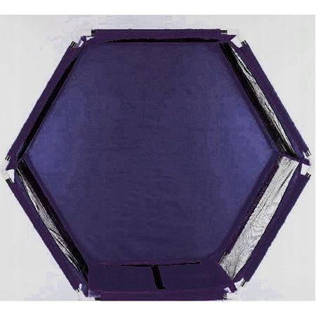 tarc de joaca bebe hexagon bleumarin