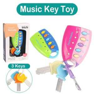 telecomanda cu chei pentru copii