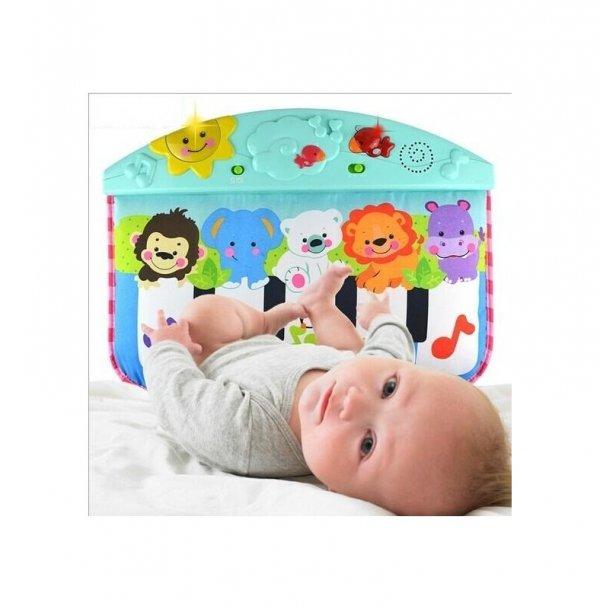 jucarie cu pian pentru patut bebe 2