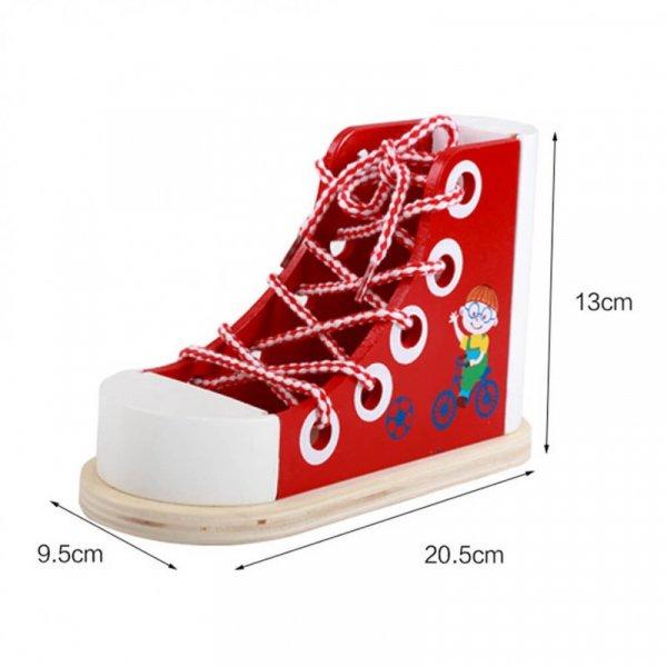 pantof din lemn de snuruit 1
