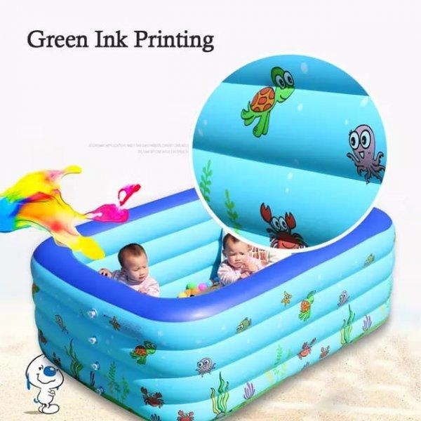 piscina fonflabila pentru copii cu podea moale 2