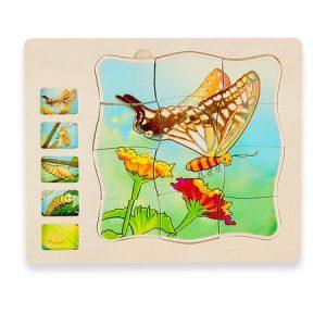 puzzle din lemn multistrat