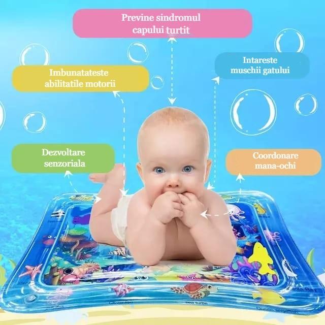 saltea cu apa pentru bebelusi allmati