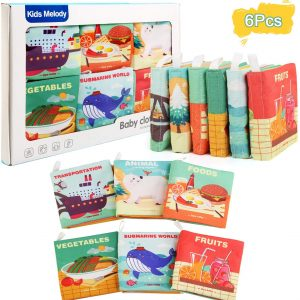 set 6 carti educative bebe