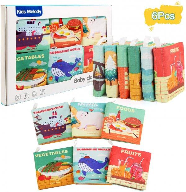 set 6 carti educative bebe