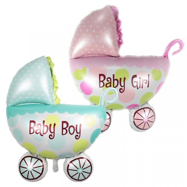 balon din folie carucior bebe