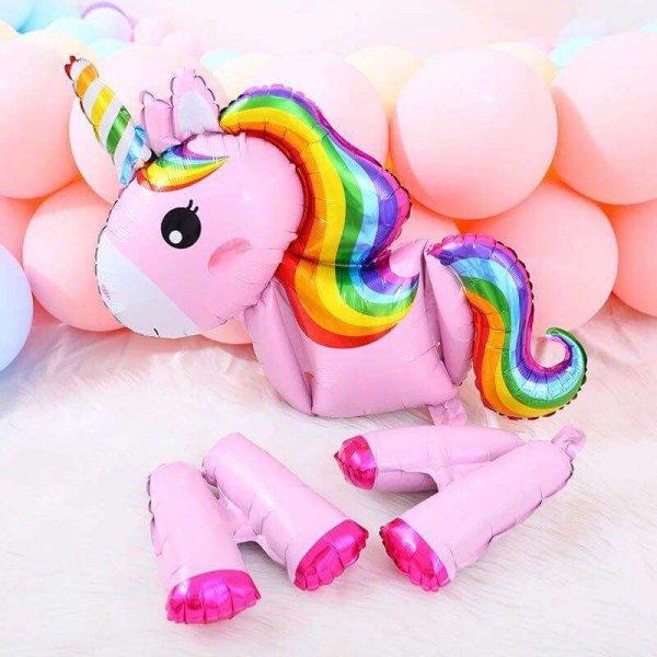 balon petrecere aniversara unicorn