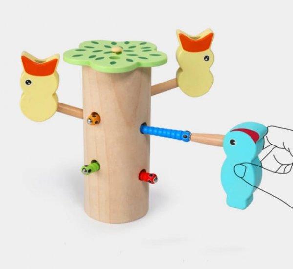 joc magnetic de pescuit caopacelul cu viermisori 4