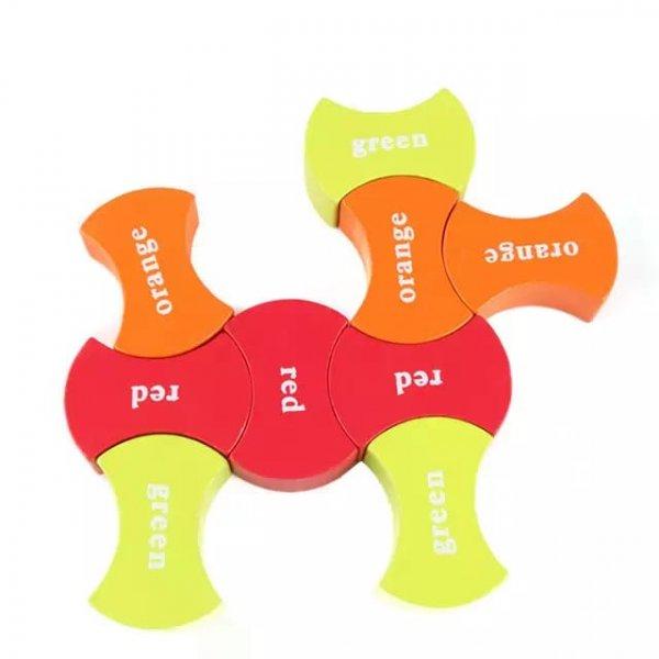 puzzle din lemn montessori invatam culorile 6