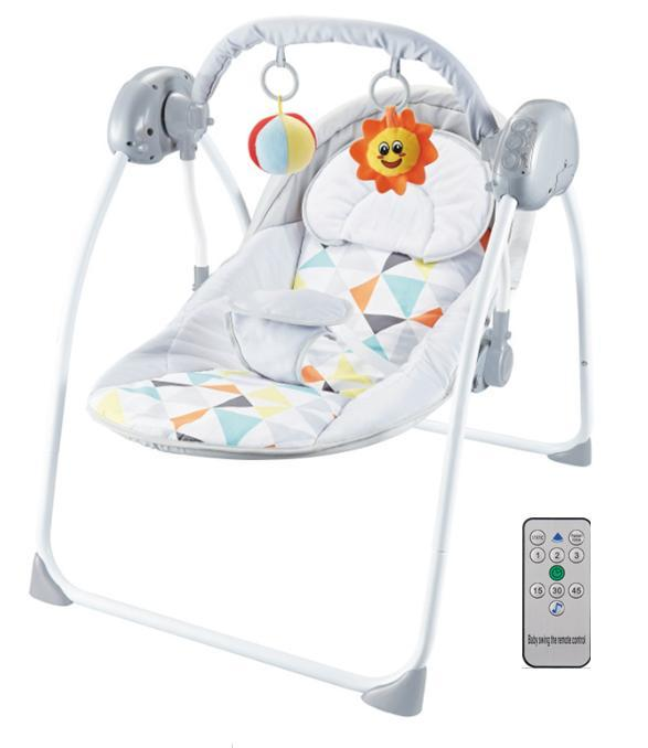 balansoar bebe cu telecomanda 3