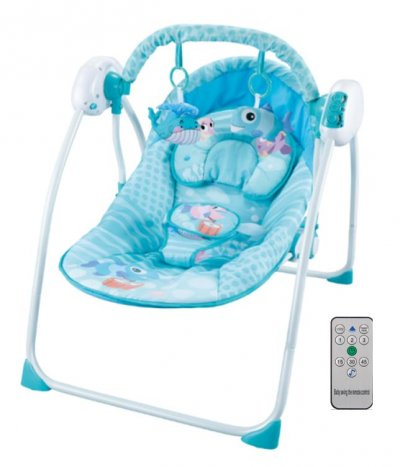 balansoar bebe cu telecomanda