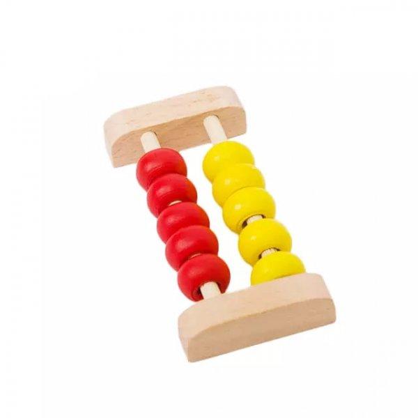 ceas din lemn cu abac si calcule matematice 3