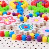 joc creativ din lemn mosaic pixel 4