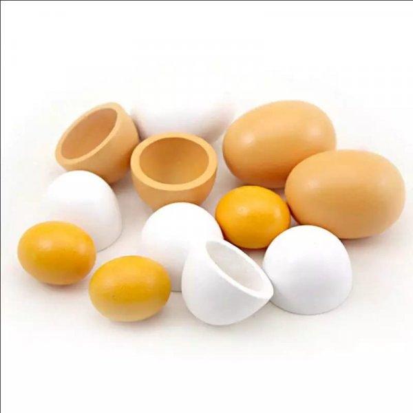 joc de rol din lemn carton cu oua 1