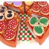 joc din lemn de feliat pizaa