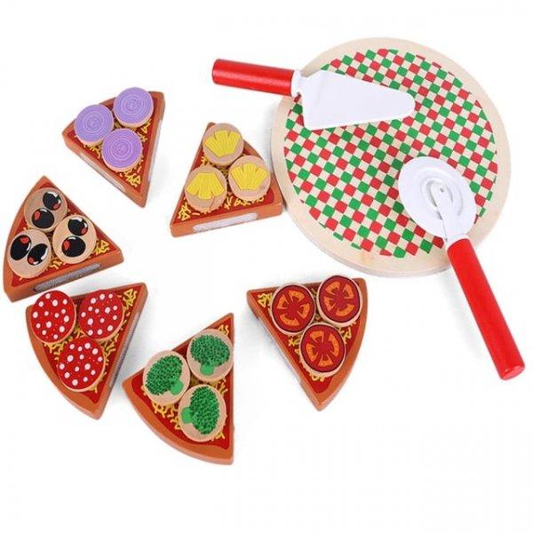 joc din lemn de feliat pizaa 2