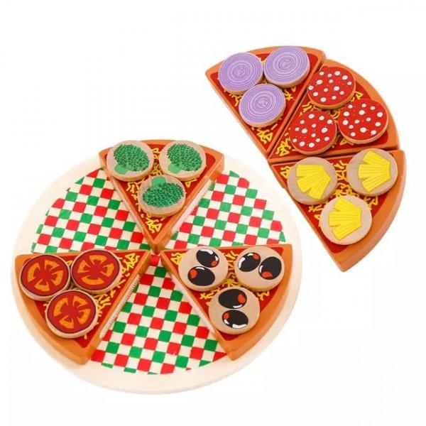 joc din lemn de feliat pizaa 3