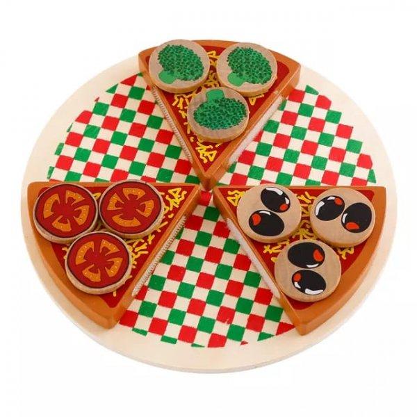 joc din lemn de feliat pizaa 4