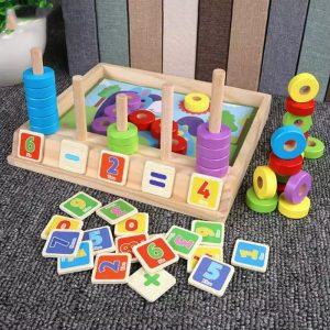 joc educativ lemn