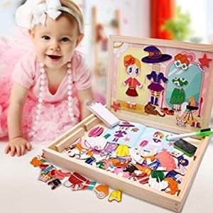 tabla magnetica cu puzzle