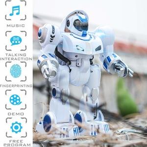 robot inteligent cu telecomanda si amprenta 7