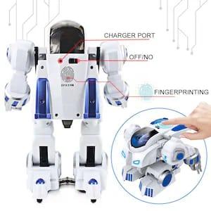 robot inteligent cu telecomanda si amprenta 8
