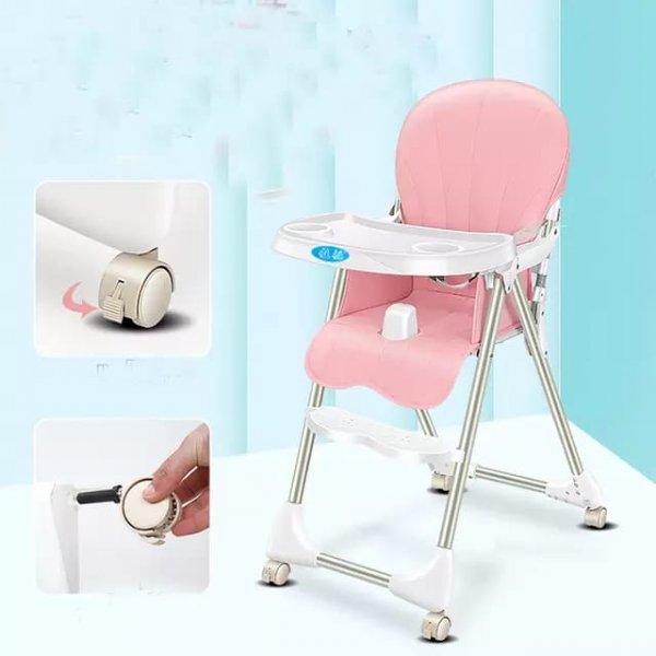 scaun de masa bebe pliabil 2