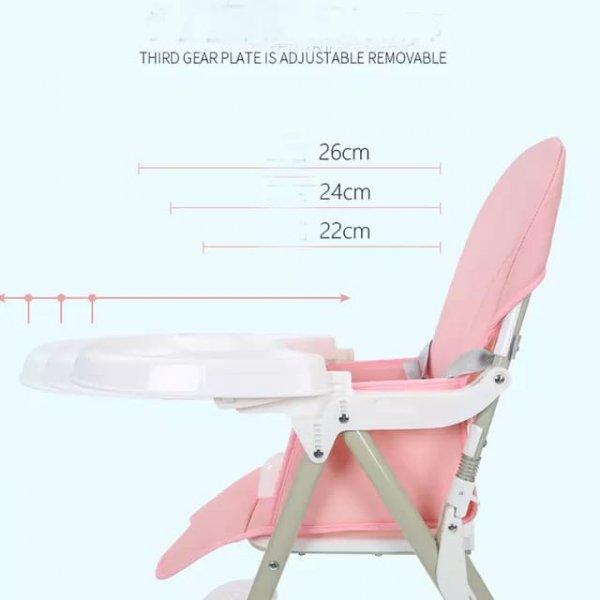 scaun de masa bebe pliabil 4
