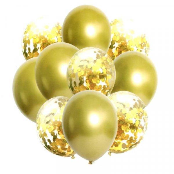 set 10 baloane confetti 4