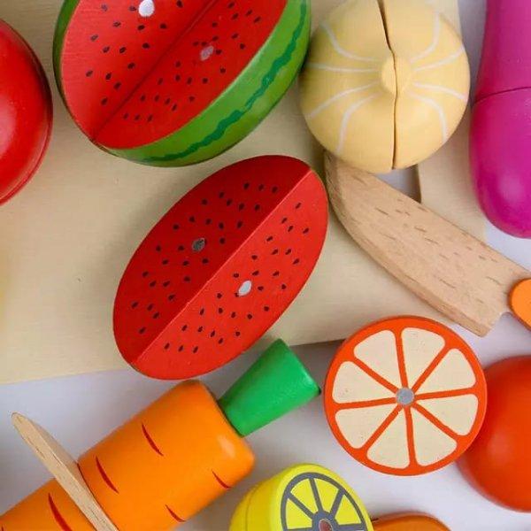 set tavita cu fructe si legume de feliat 1
