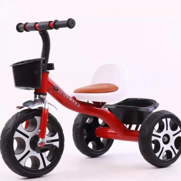 tricicleta cu pedale scaun ergonomic 1 2
