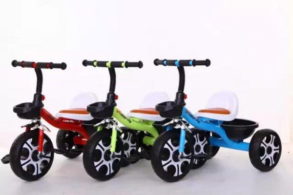 tricicleta cu pedale scaun ergonomic 6