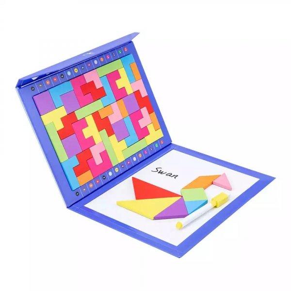 carte magnetica magnetic tetris puzzle 2