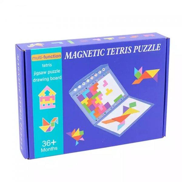 carte magnetica magnetic tetris puzzle 5