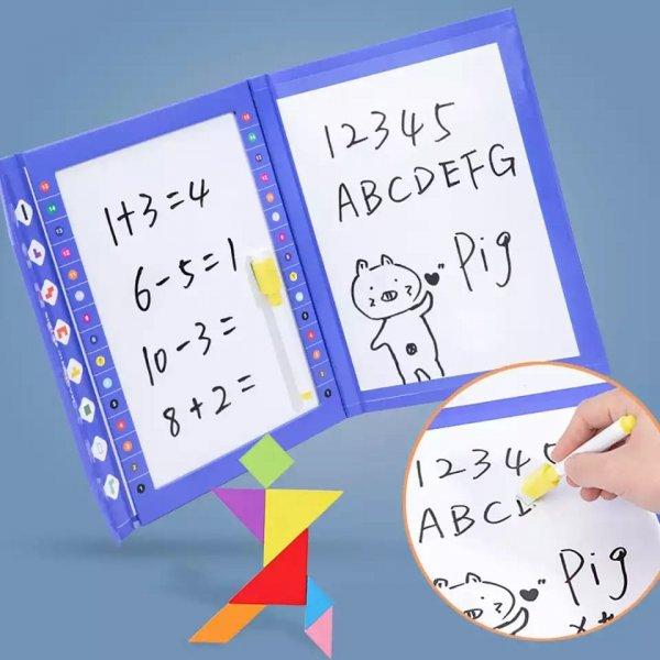carte magnetica magnetic tetris puzzle 6