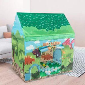 cort de joaca lumea dinozaurilor