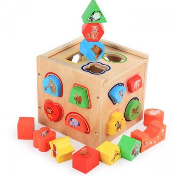 cub sortator din lemn 5in1 1