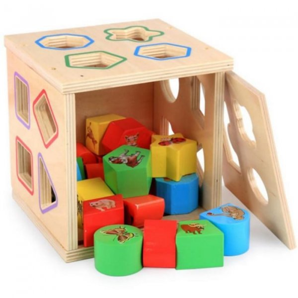 cub sortator din lemn 5in1 3